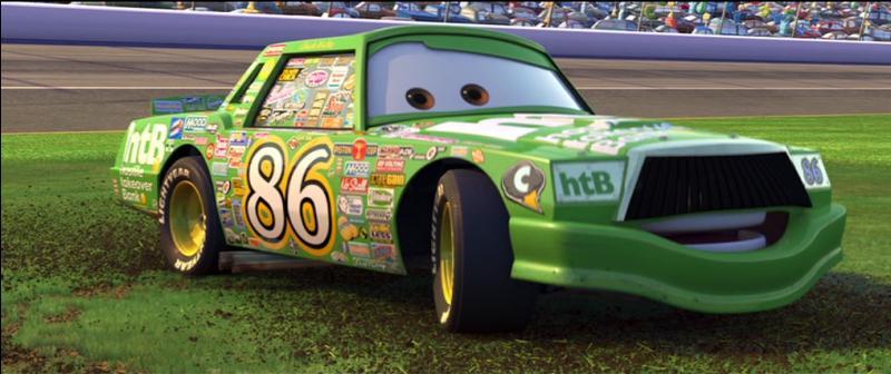"""Comment se nomme ce personnage très arrogant issu du film """"Cars"""" ?"""