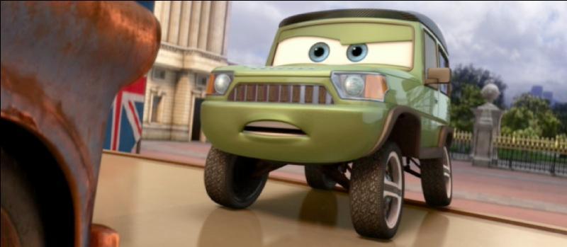 """À la fin de """"Cars 2"""", nous découvrons que _______ est le méchant du film."""