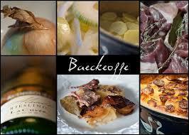 Le baeckeoffe est un plat traditionnel ...