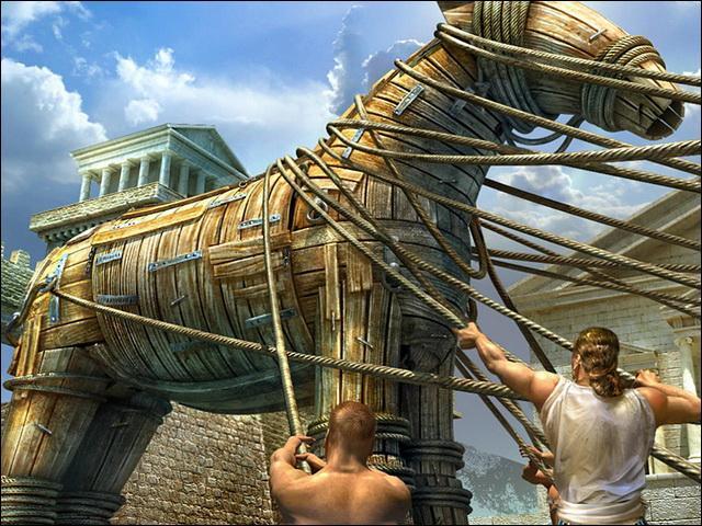 A quel ingénieur ordonna-t-il de construire le cheval de Troie ?