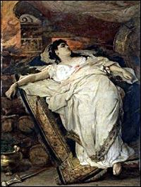 Il sera l'initiateur du sacrifice sur le tombeau d'Achille, de cette princesse troyenne ; qui est-elle ?