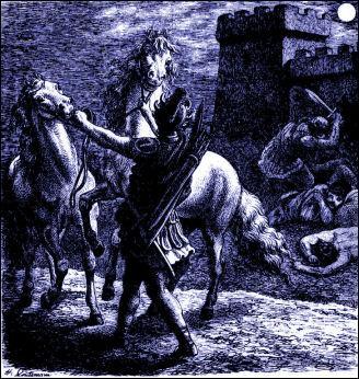 Qui est ce roi de Thrace, venu au secours des Troyens, qui sera tué par Diomède avec l'aide d'Ulysse et ménera ses chevaux au camp des Grecs ?