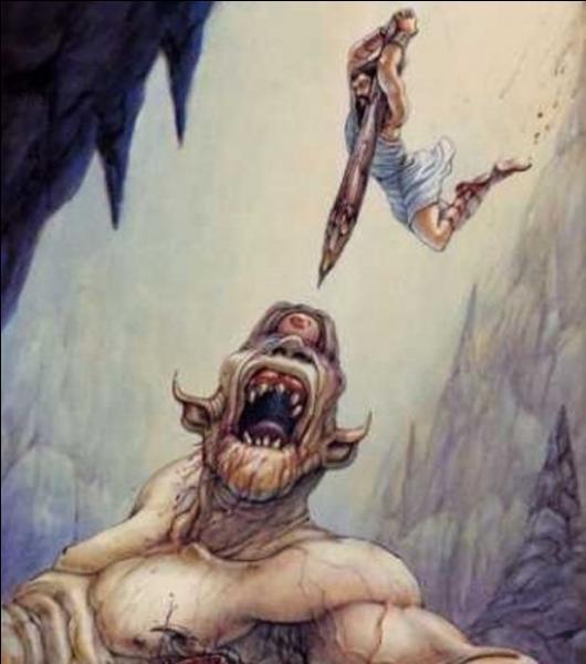 Quel est le nom de cet impitoyable cyclope, fils de Poséidon, dont Ulysse avec ses compagnons crèvera l'unique œil.