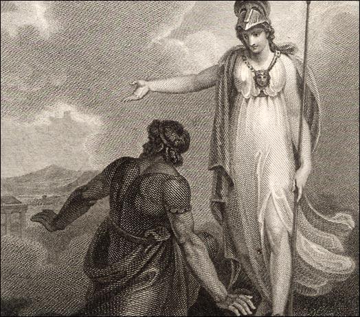 Quelle est la déesse protectrice d'Ulysse ?