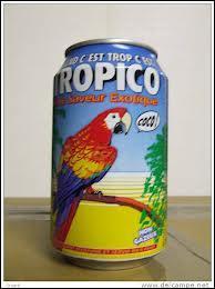 Quelle marque de boisson utilise un perroquet en guise de mascotte ?