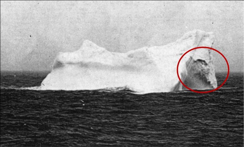 Cet iceberg fit beaucoup de victimes, un siècle plus tard, la chanson du film ajouta beaucoup de notoriété à l'interprète que vous devez trouver !