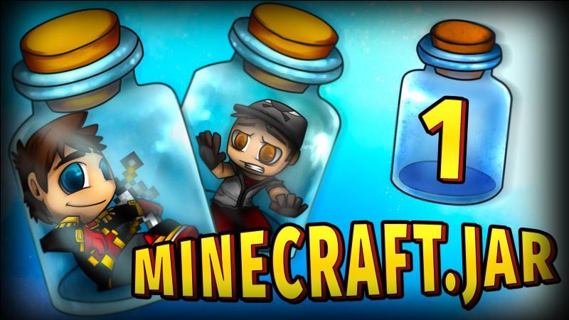 """Avec qui est-il en coop' dans la série """"Minecraft.jar"""" ?"""