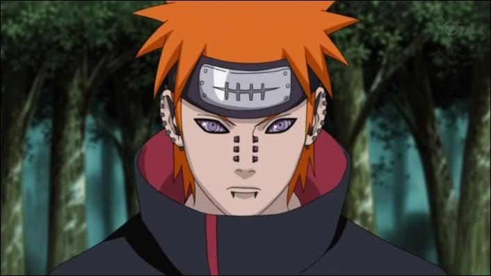 Je suis le chef officieux de l'Akatsuki ainsi que le leader du Village d'Ame. Je suis :