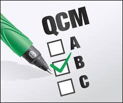 Que désigne un Q.C.M. ?