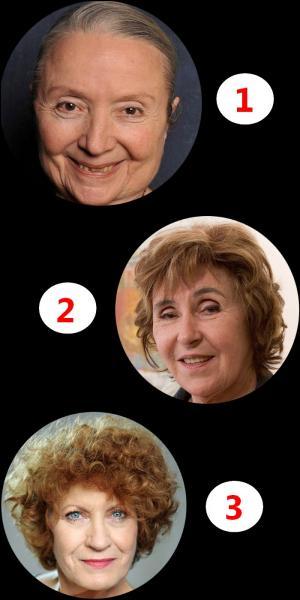 De ces trois femmes, laquelle n'est pas une actrice ?