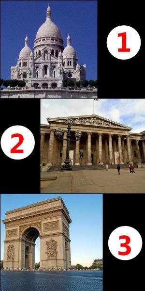 De ces trois monuments, lequel n'est pas parisien ?