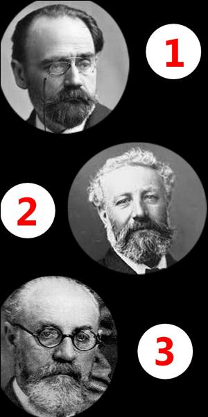 Parmi ces trois hommes, lequel est un artiste-peintre ?