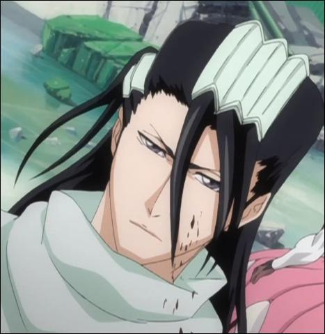 Je suis le capitaine de la sixième division du Gotei.13. J'ai affronté Ichigo Kurosaki et j'ai perdu. Qui suis-je ?