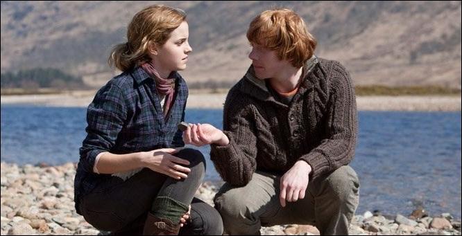 Avant d'intégrer la cinquième année à Poudlard, où Ron et Hermione passent-ils leurs vacances ?