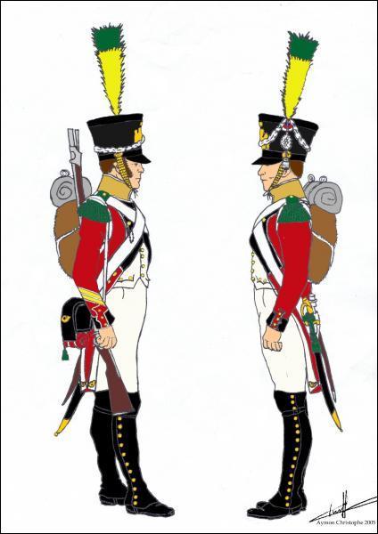 Cette unité d'élite, reconnue par Napoléon, a la particularité d'être plus petite. Ce sont les :