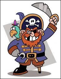 En général, les pirates cherchent un trésor grâce à une carte au trésor.
