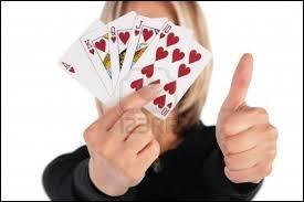 """Que signifie l'expression """"Avoir les cartes en main"""" ?"""