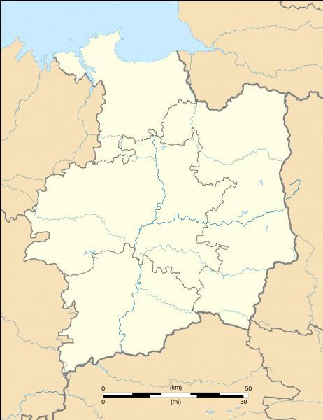 Sur une carte de France quel département est entouré par la Manche, la Mayenne, le Maine-et-Loire, la Loire-Atlantique, le Morbihan et les Côtes d'Armor ?