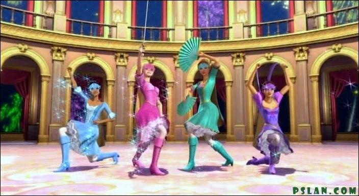De quel film de Barbie est tirée cette photo ?