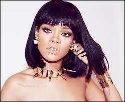 Laquelle de ces musiques ne fait pas partie des oeuvres de Rihanna ?