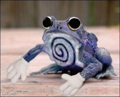 En quel Pokémon cette grenouille a-t-elle tenu à se déguiser ?