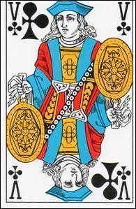Quel est le prénom du valet de trèfle dans le jeu de cartes français ?