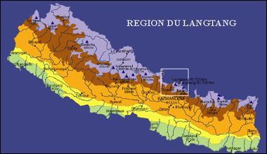 Dans quel pays un terrible séisme, survenu le 25 avril dernier (2015), a-t-il eu pour conséquence de rayer de la carte le village touristique de Langtang ?
