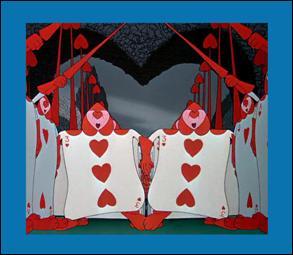 """Qui dirige, avec beaucoup de cruauté, une armée de cartes à jouer dans """"Alice au pays des merveilles"""" ?"""