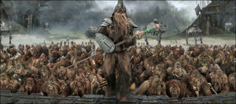 De quelle planète sont originaires les Wookiees ?