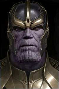 Celui qui incarna George W. Bush au cinéma prête ici ses traits, le temps d'une courte scène, au diabolique Thanos. Il s'agit de :