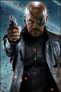 Quel grand représentant de la coolitude suprême interprète ici le stoïque et autoritaire Nick Fury ?