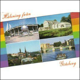 Observez cette carte postale et visitez la ville scandinave de Göteborg. Dans quel pays se trouve-t-elle ?