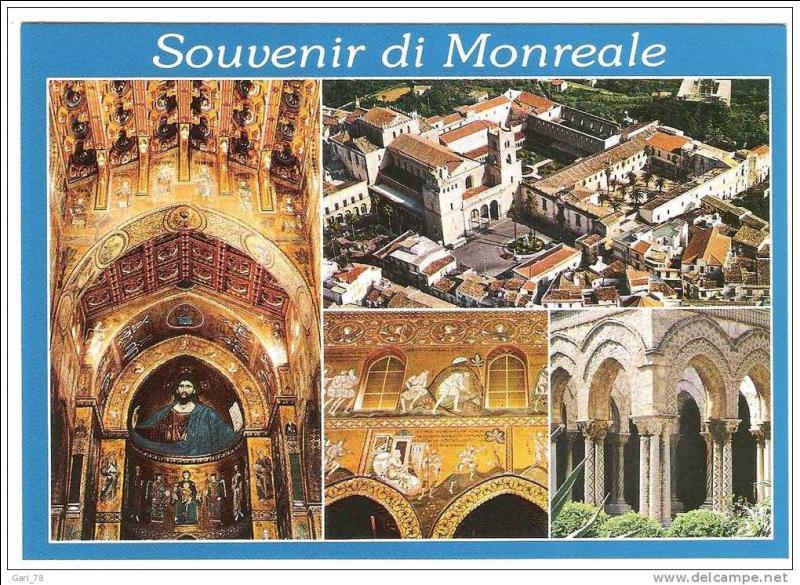 Vous avez visité la cathédrale de Monreale, ville de la province de Palerme, située...