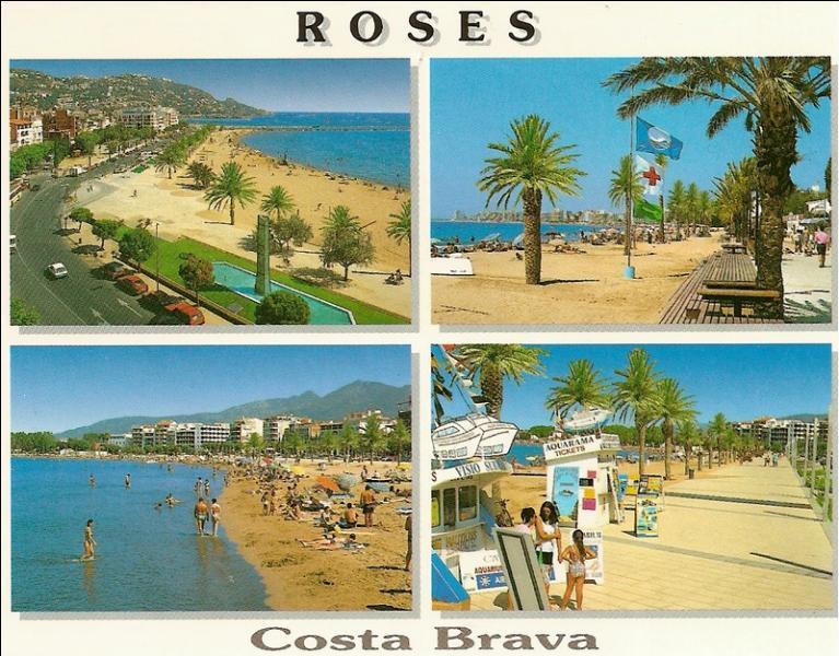 """Regardez bien la carte postale puis fermez les yeux. Quel bonheur d'être sur ces plages de la """"Costa Brava"""", côte située..."""