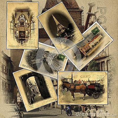 Visitez l'Europe grâce aux jolies cartes postales !