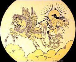 Dans la mythologie grecque, comment s'appelle le dieu du soleil ?
