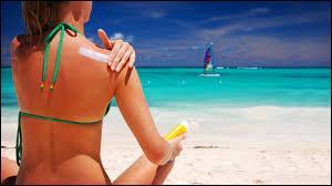 Contre quel type de rayon la crème solaire protège-t-elle ?