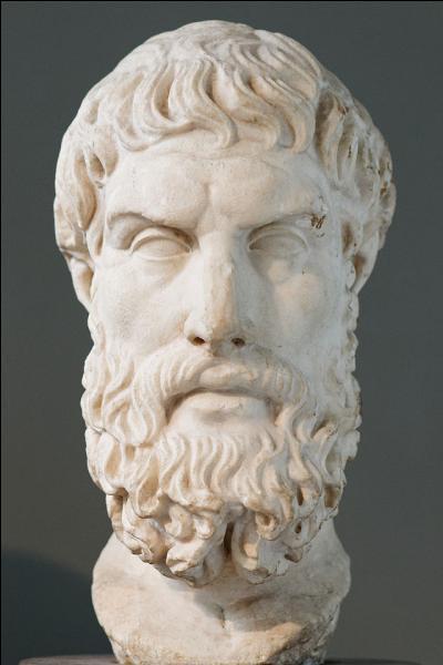"""A quel philosophe grec, décédé en 270 av. J.-C, doit-on """"Lettre à Hérodote"""" ?"""