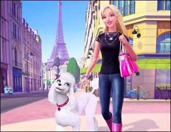 Comment s'appelle Barbie dans 'Barbie et la Magie de la mode' ?