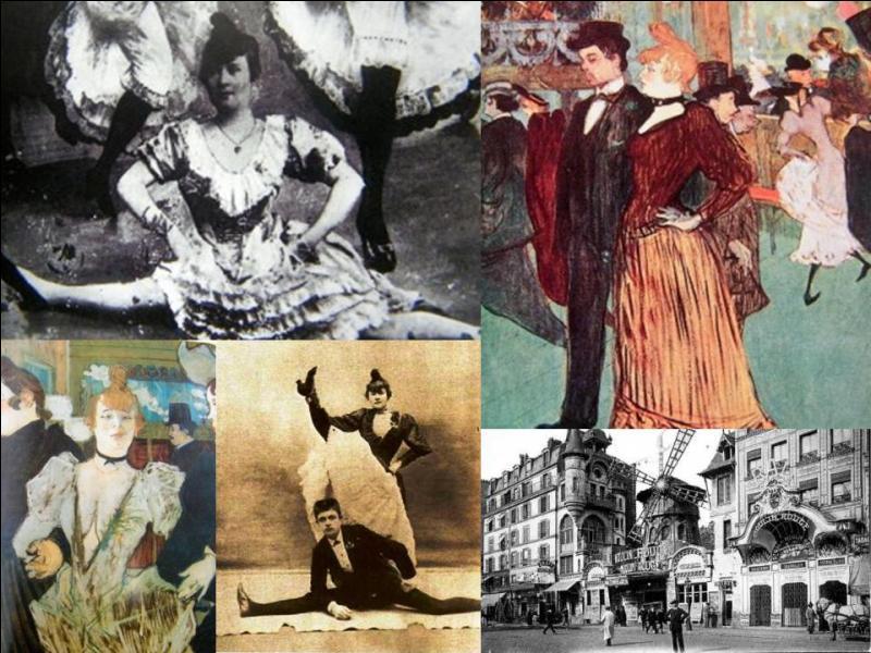 Il est difficile de dissocier ces deux personnes. Donc, vous avez deux personnes à découvrir. Tous deux ont exercé leur art dans un lieu du XVIIIe arrondissement de Paris bien connu pour ces spectacles plutôt « légers », voire osés.Pour vous aider, les vrais noms de ces personnes sont Jules Renaudin et Louise Weber.Quels sont leurs pseudonymes ?