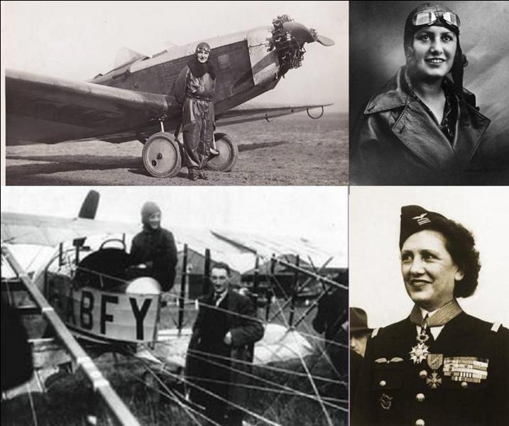 Dans cette question, je vous demande de trouver le nom de jeune fille de cette aviatrice qui a détenu de nombreux records. Mariée, elle prit le nom de Maryse Bastié.Comme elle, son mari, autre aviateur émérite, se tuera dans un accident d'avion.