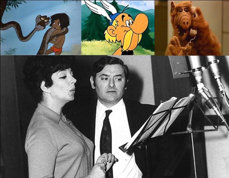 Ce comédien a joué dans plus de 50 longs-métrages, une dizaine de courts-métrages, plus de 30 téléfilms. Egalement, il a doublé des acteurs dans environ 100 films. Il a participé au doublage de 60 dessins animés et a doublé beaucoup de séries télévisées. Son vrai nom est Roger Blancharel.Qui est son nom d'acteur ?