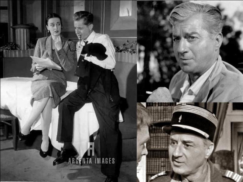 """Sous le pseudo de « Claude Dauphin », il commencera sa carrière au cinéma en 1932 avec le film « Une jeune fille et un million » de Fred Ellis.Il fera sa 1e apparition au théâtre en 1934, avec « Une femme libre"""" d'Armand Salacrou.Pendant la 2e Guerre mondiale, il fera partie du réseau « Carte » et rejoindra Londres, en 1942.Quel est son vrai nom ?"""