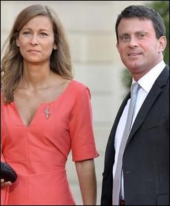 Quel est le nom de la violoniste avec laquelle Manuel Valls s'est marié ?