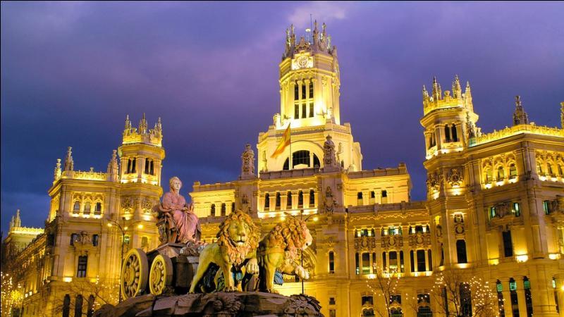 Comment s'appelle la capitale de l'Espagne ?