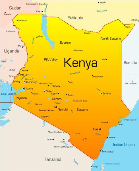 Dans quel continent est le Kenya ?