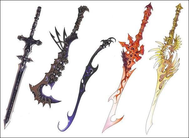 A qui sont ces épées ?