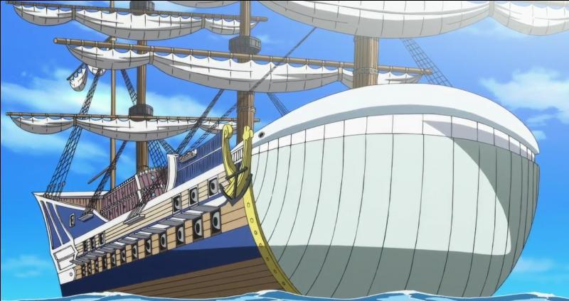 Comment s'appelle le navire principal de Barbe Blanche ?