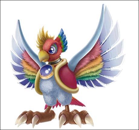 Avec quoi sont faites les ailes de Dyna Blade ?