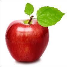 Au jardin d'Eden, le fruit qu'Ève a donné à Adam était une pomme.